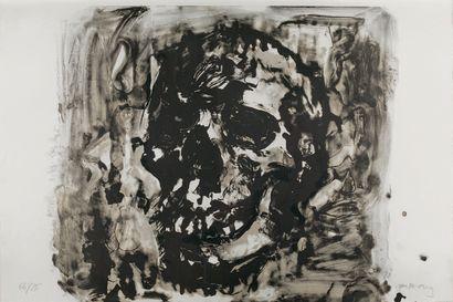 Yan Pei-Ming (français d'origine chinoise, né en 1960) Vanity. 2012. Lithography....