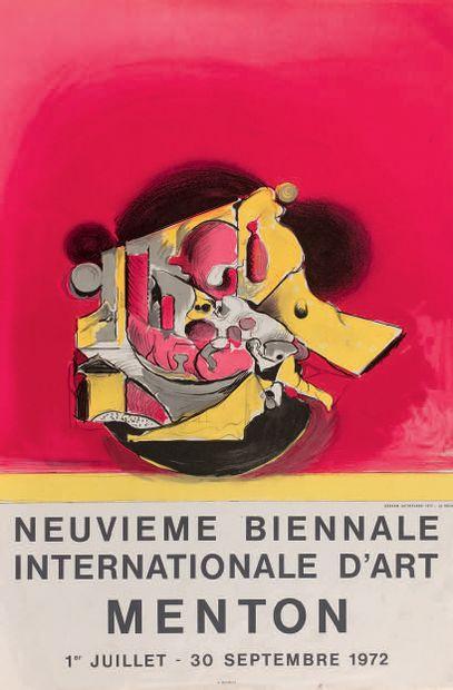 Francis Bacon (britannique, 1909-1992) (d'après) Poster for the artist's exhibition...