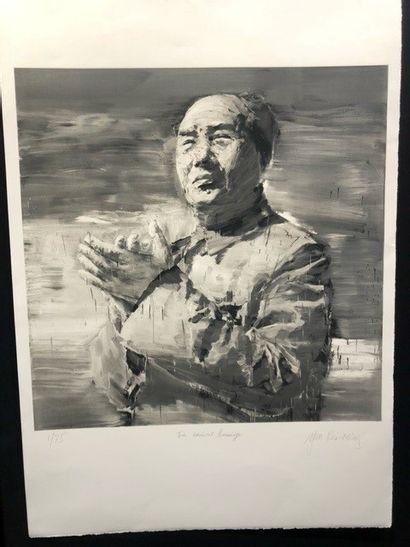 Yan Pei-Ming (français d'origine chinoise, né en 1960) Mao. (Pl. for Icons portfolio)....