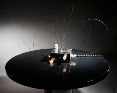 Gianni GAMBERINI & ARDITI SORMANI (éditeur) Table lamp model BT2 of the artist's...