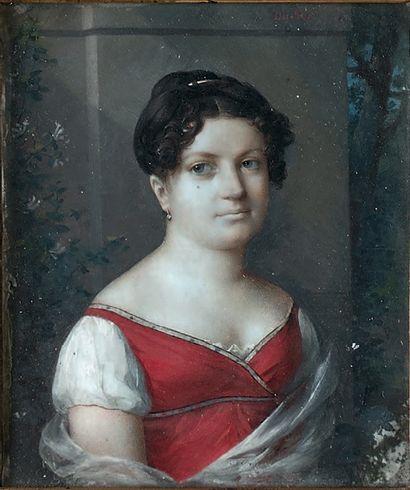 Frédéric DUBOIS (attribué à), vers 1810
