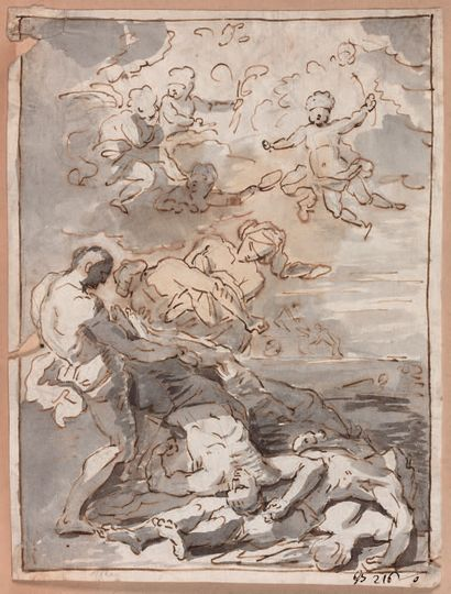 Jean-Baptiste CORNEILLE (Paris 1649-1695) (Attribué à)