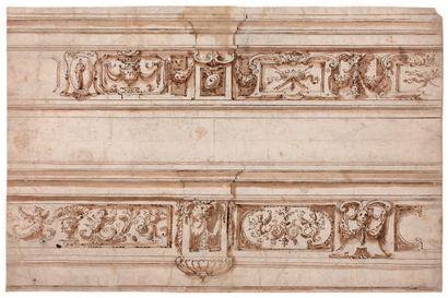 Entourage de la famille ALBERTI (école italienne du XVIe siècle)