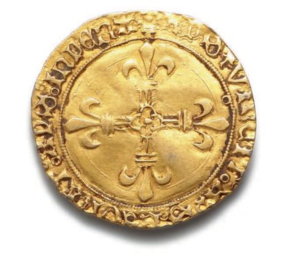 LOUIS XII (1498-1514) Écu d'or au soleil. Toulouse (Pt 5e). 3,34 g. D. 647. TB à...