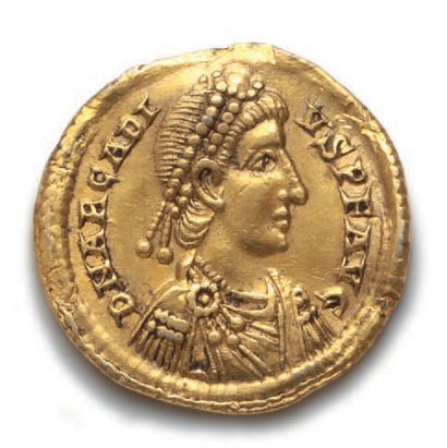 ARCADIUS (383-408) Solidus. Milan (402-403)....