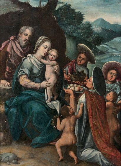 École génoise vers 1630, suiveur de Giovanni Andrea ANSALDO