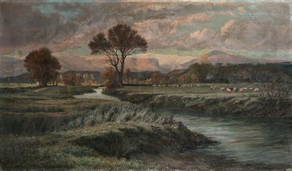 Attribué à Ernest BUTTURA (1841-1920)