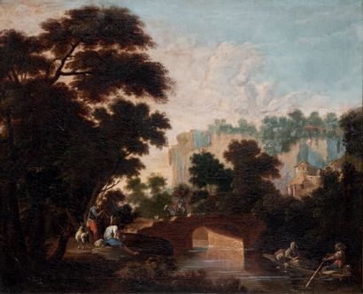 École romaine du XVIIe siècle, suiveur de BONZI