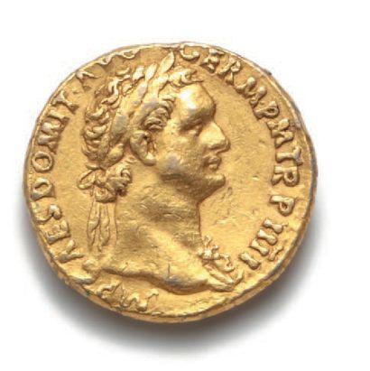 DOMITIEN (81-96) Auréus. Rome (85). 7,32...