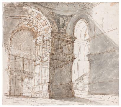 École ITALIENNE vers 1800