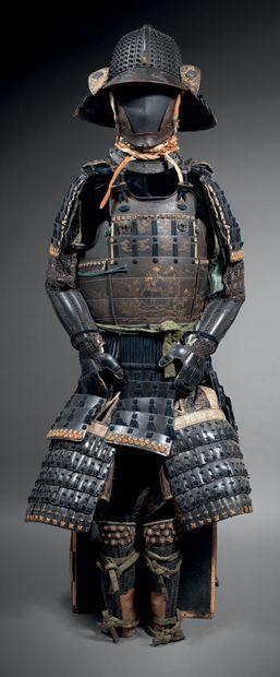 JAPON - Époque EDO (1603-1868)<br/>XVIIIe/XIXe siècle