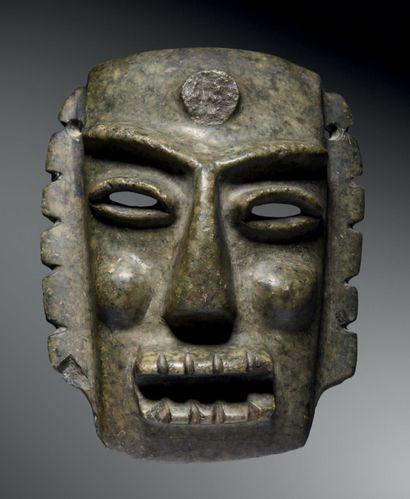 Masque anthropomorphe, Culture Chontal, État...