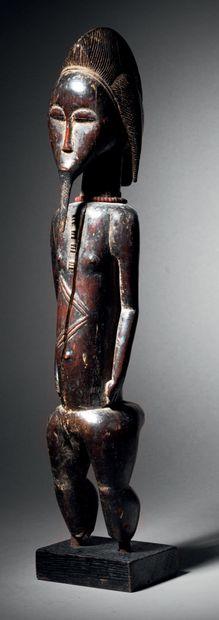 Statue Baoulé, Blolo bian, Côte d'Ivoire...