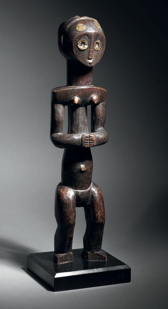 Ɵ Statuette byéri, Fang-Ngumba, frontière...