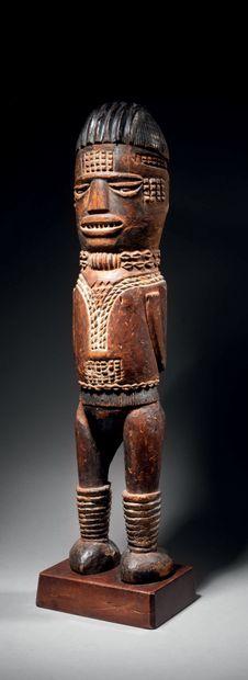 Statue Kuyu, République Démocratique du Congo...