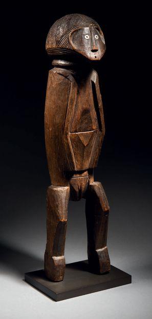 Ɵ Statuette Banda, région de Mobaye, République...