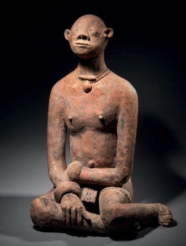 Ɵ Grand personnage assis Djenne,Delta du Niger intérieur, Mali Époque : 1100/1400...