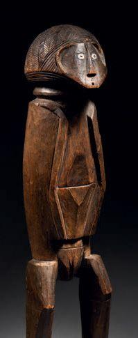 Ɵ Statuette Banda, région de Mobaye, République Centrafricaine Fin du XIXe siècle...