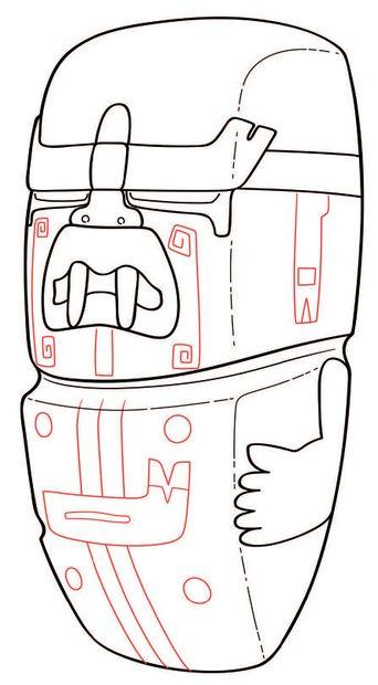HACHE VOTIVE aux traits du WERE-JAGUAR Culture Olmèque, Mexique Préclassique moyen,...