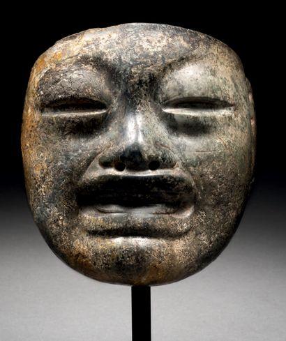 ANTHROPOMORPHE MASK Olmec culture, La Laguna...
