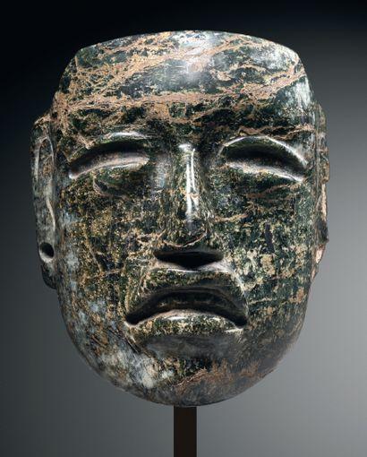 MASQUETTE - PORTRAIT OF A RULER Olmec culture,...