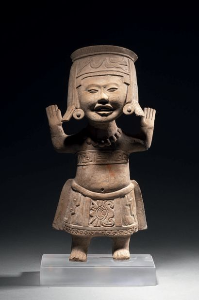 DANSEUSE DE TYPE «SOURIANT» Culture Veracruz,...