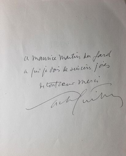 GUITRY (Sacha). Jean de La Fontaine.