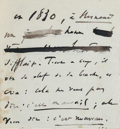 HUGO (Victor). Hernani ou L'Honneur castillan. Paris, Mame et Delaunay-Vallée, 1830....