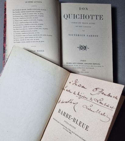 OFFENBACH (Jacques). — SARDOU (Victorien).