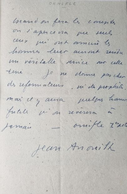 ANOUILH (Jean).