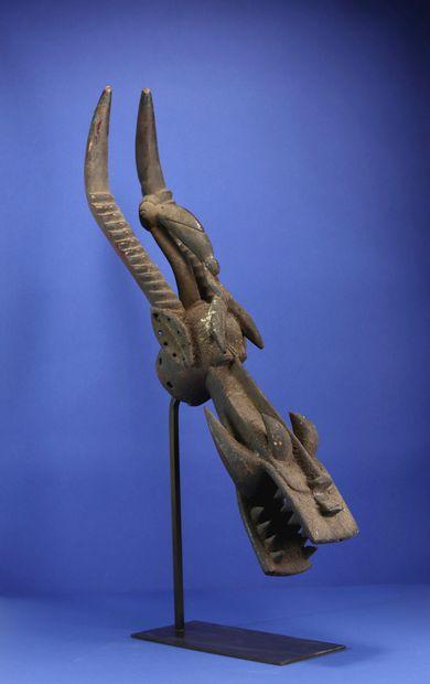 Masque buffle kagba figurant un animal fantastique...