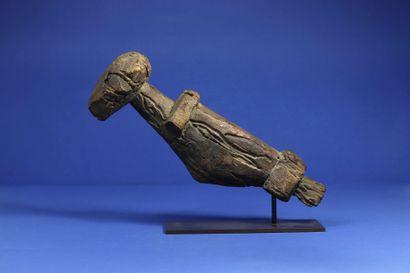 Statue représentant un quadrupède, les jambes...
