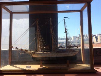 Maquette de navire de type Cap Hornier Avec...