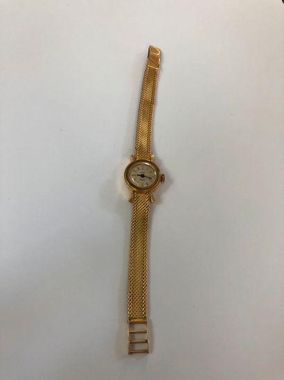 Bracelet montre de dame LUXE En or 750°°°,...