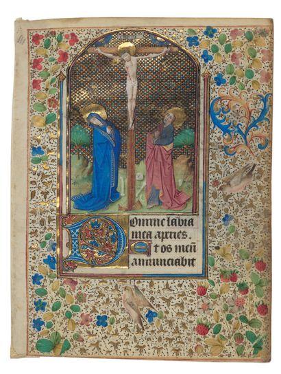 Maître du Missel de Troyes Feuillet extrait...
