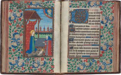 Livre d'heures (à l'usage de Rome). En latin...