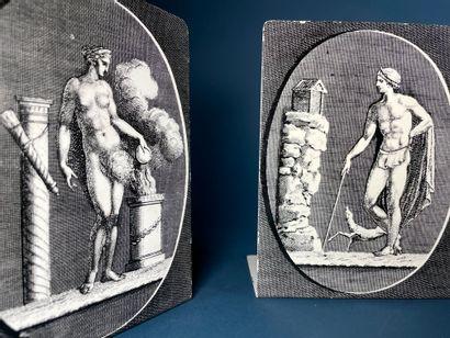 Piero FORNASETTI (1913-1988) Figure à l'antique...