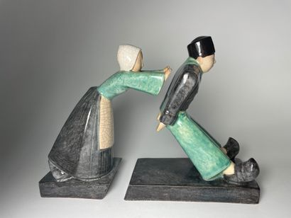 André-Vincent BECQUEREL (1893-1981) & Marcel...