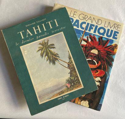 Lot de 2 livres : - Tahiti. Le dernier paradis...