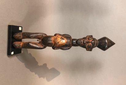 Statue de type Yaka, République Démocratique...