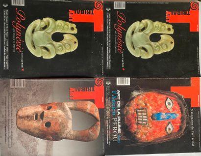 Lot de 4 numéro de Tribal Art (n°2, printemps...