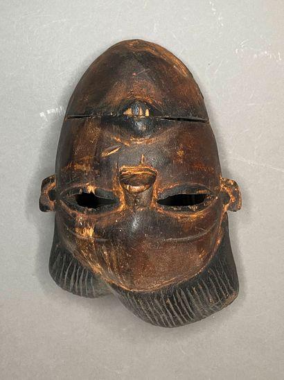 Masque Ogoni à la machoire articulée  Nigéria...