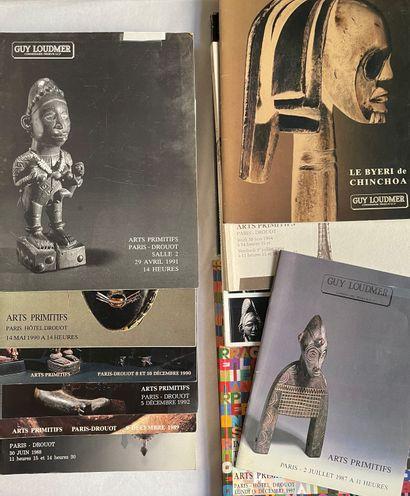 Catalogues de vente Guy Loudmer de 1987 à...