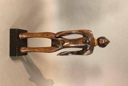 Statue Mossi, Burkina Faso  Bois à patine...