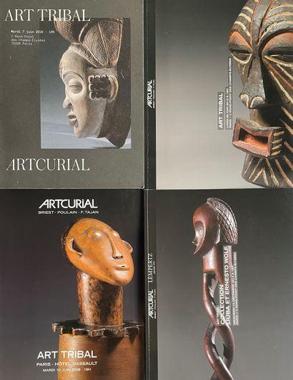 Lot de 4 catalogues de vente Artcurial dont...