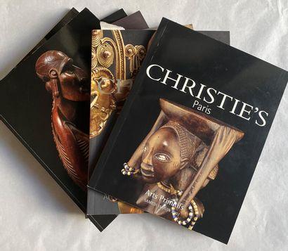 Lot de catalogues de vente Christie's de...