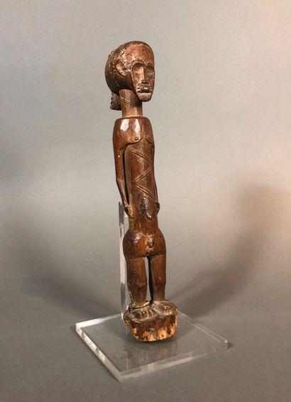 Statue Agni Baoule , Côte d Ivoire  Bois...