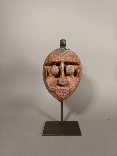 Masque Ibo, Nigéria  XIXe-XXe siècle  Bois...