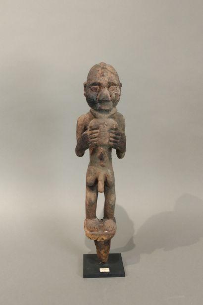 Statue bochio Fon, Bénin  Bois à patine sacrificielle...