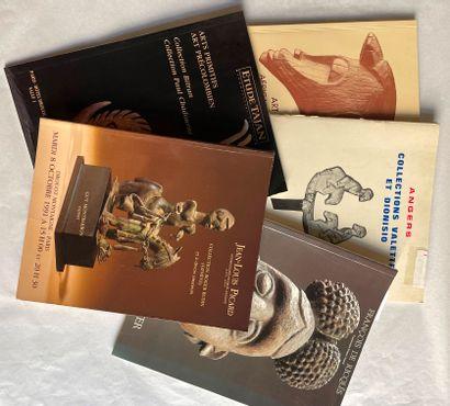 Lots de 26 catalogues de vente dont :  -...